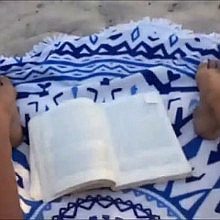 reading on chrissi island